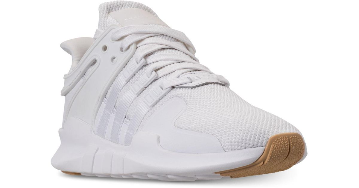 best sneakers f7335 a691f Adidas - White Eqt Support Adv Casual Sneakers From Finish Line for Men -  Lyst
