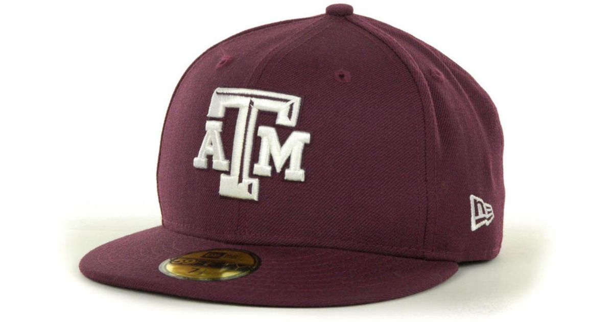 detailed look 9c52a aad41 KTZ Texas A m Aggies 59fifty Cap in Purple for Men - Lyst