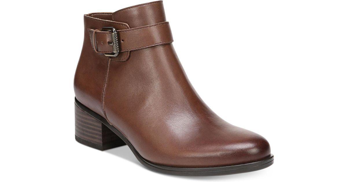 Womens Boots CARLOS by Carlos Santana Leighton Almond