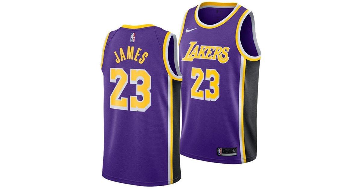 best website 1f25c 0f91f Nike Purple Nba Swingman Basketball Jersey for men