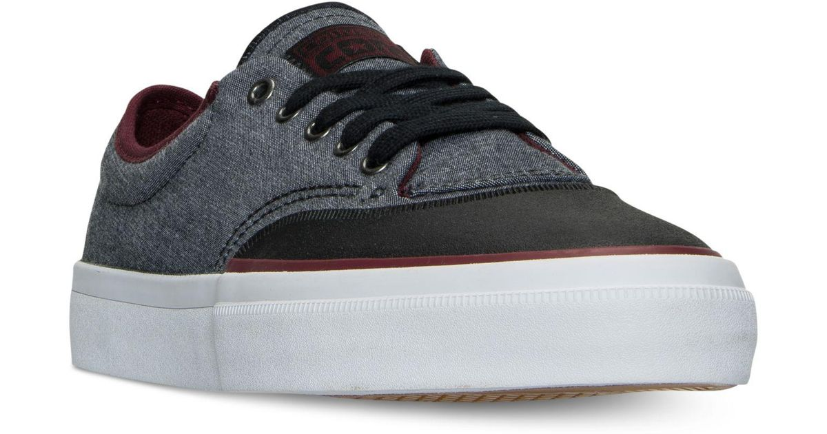 91491175c3aac8 Lyst - Converse Chuck Taylor All Star Crimson Casual Sneakers From Finish  Line in Black for Men