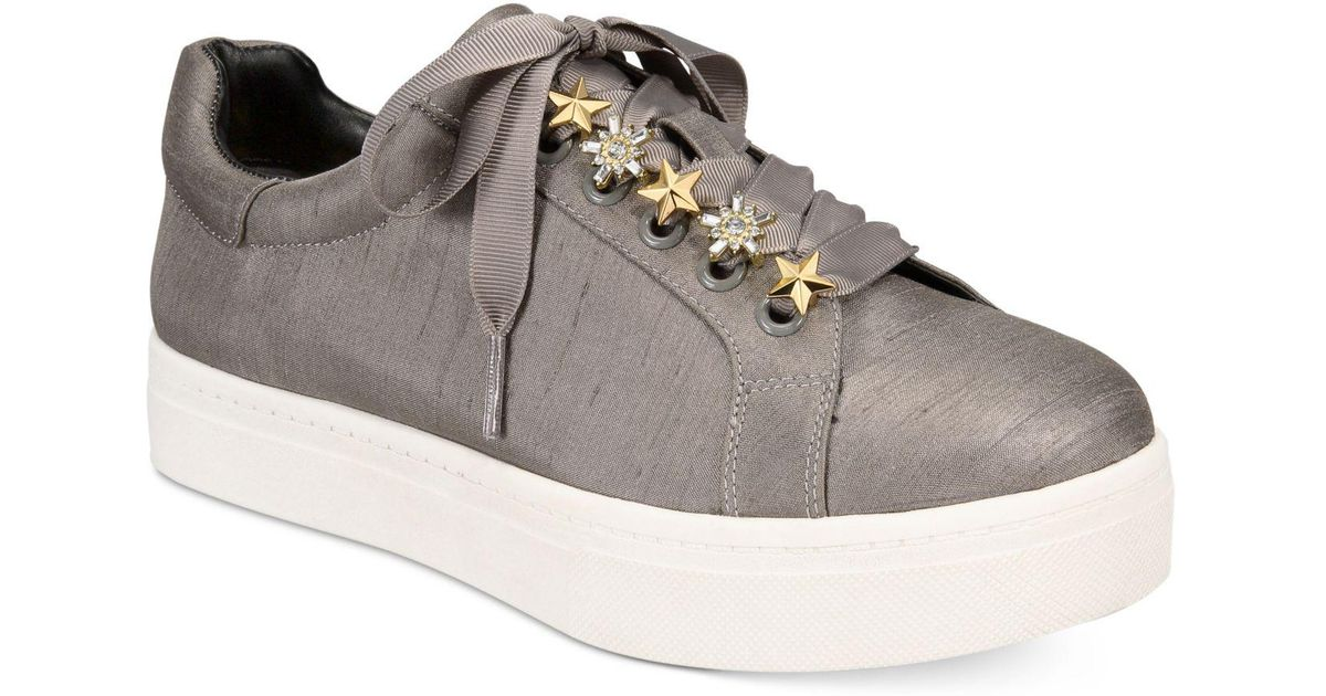 305f9f0bb593 Lyst - Circus by Sam Edelman Shania Sneakers in Gray