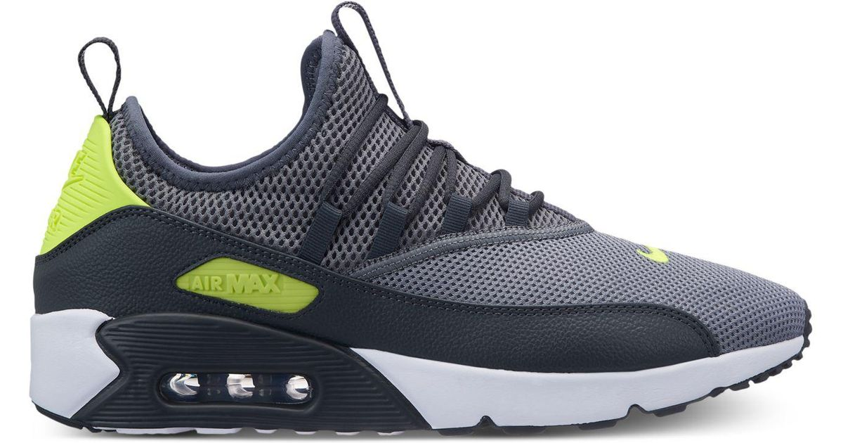 quality design 320cc fa926 Nike Gray Air Max 90 Ez Casual Sneakers From Finish Line for men