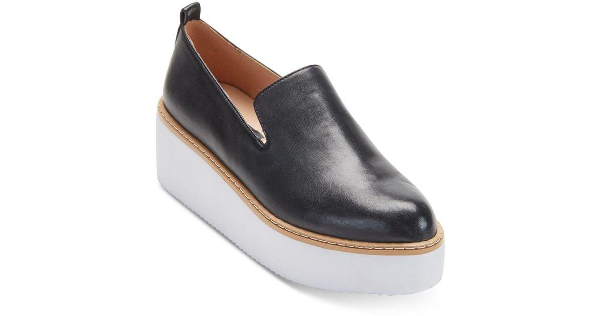 DKNY Fur Bari Platform Sneakers