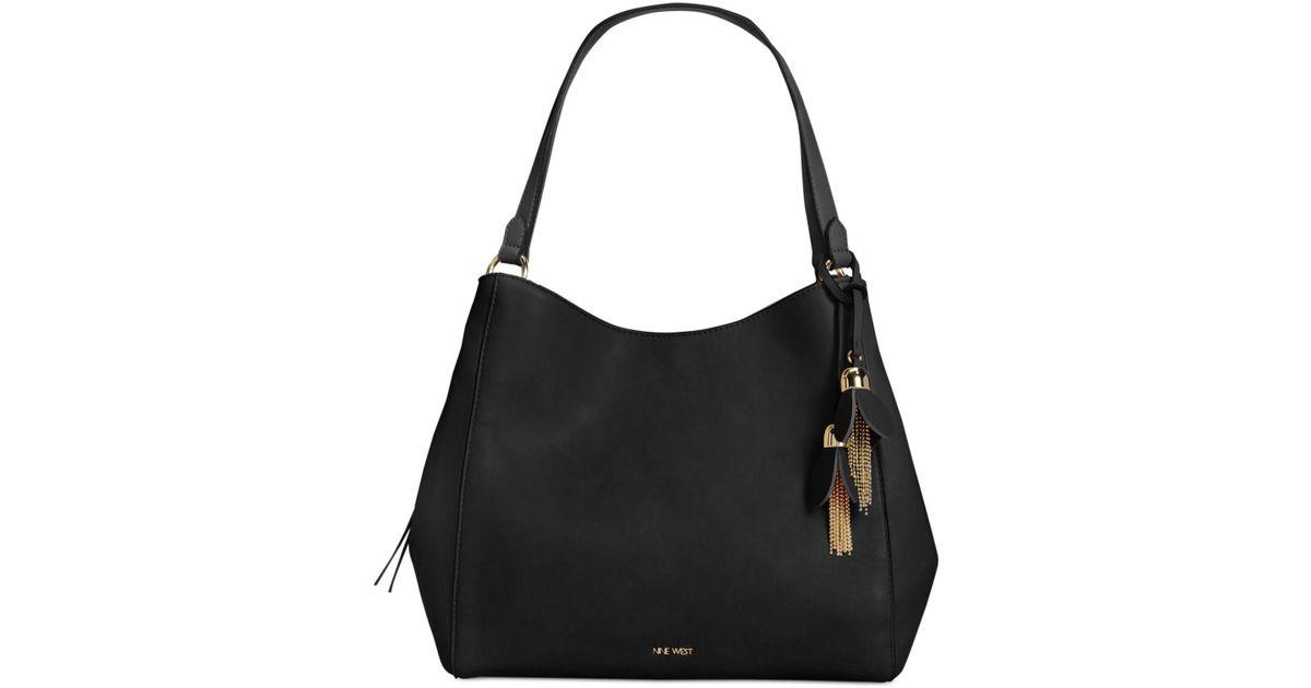 Nine West Black Marea Hobo Bag