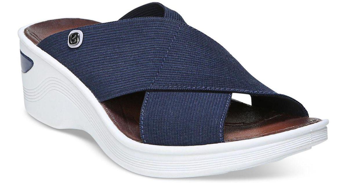 4583f33f948 Lyst - Bzees Desire Sandals in Blue