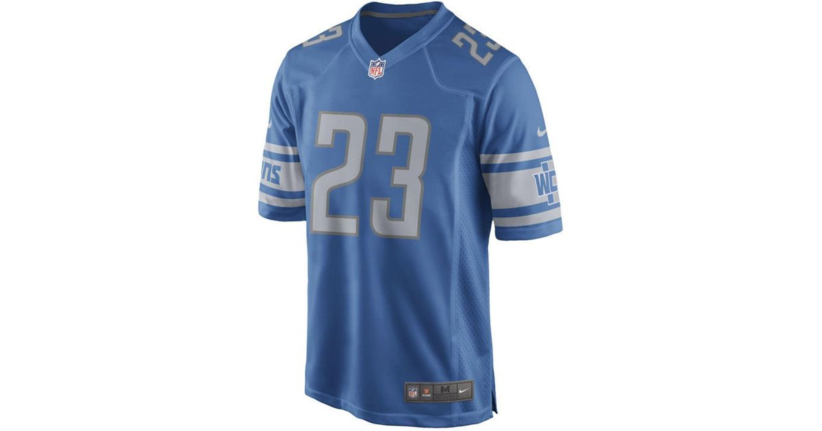Lyst - Nike Darius Slay Jr. Detroit Lions Game Jersey in Blue for Men f3b61e2d2