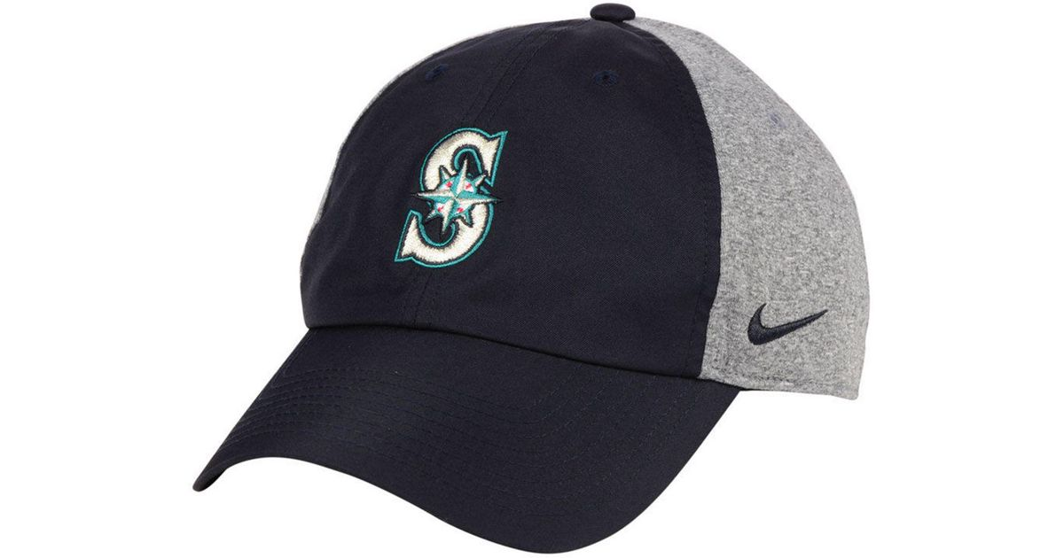 best website b86ef 024db ... coupon code lyst nike seattle mariners new day legend cap in blue for  men 8d1f6 96f25