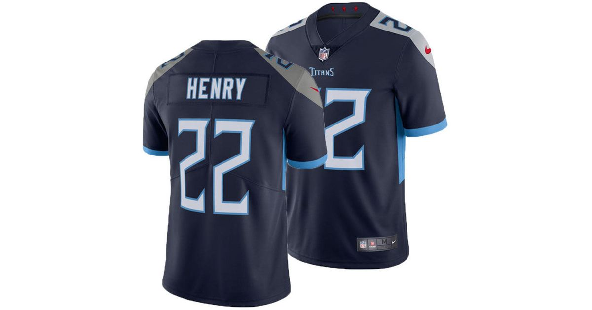 af88166da Lyst - Nike Derrick Henry Tennessee Titans Vapor Untouchable Limited Jersey  in Blue for Men