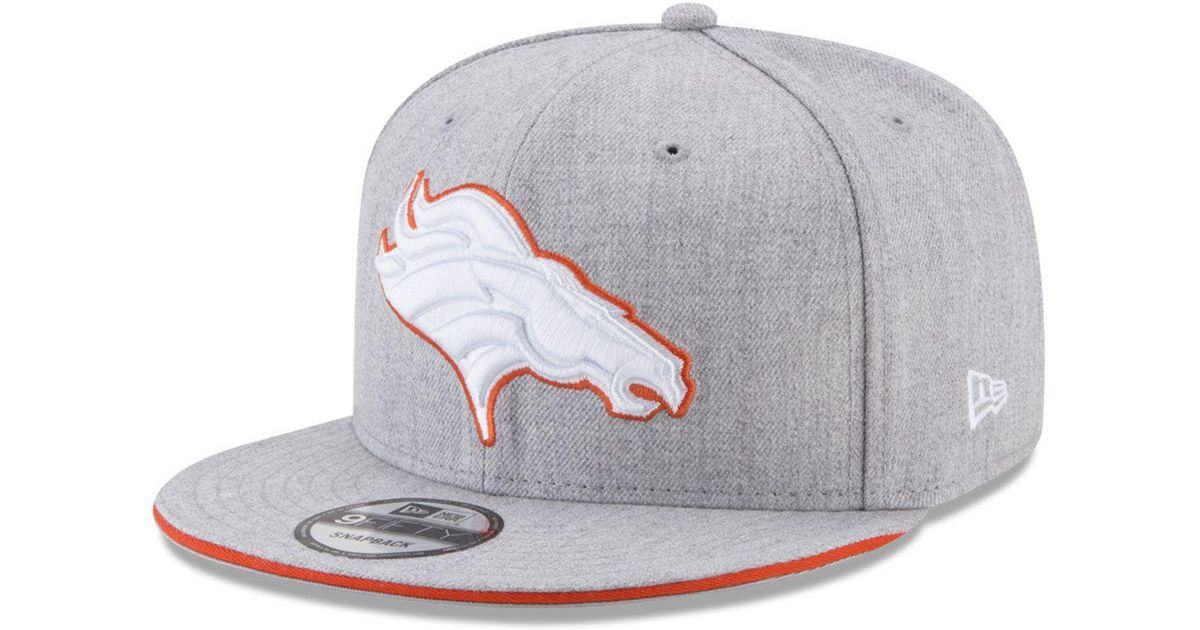 low priced 26b0a f9e30 Lyst - KTZ Heather Hot 9fifty Snapback Cap in Gray for Men