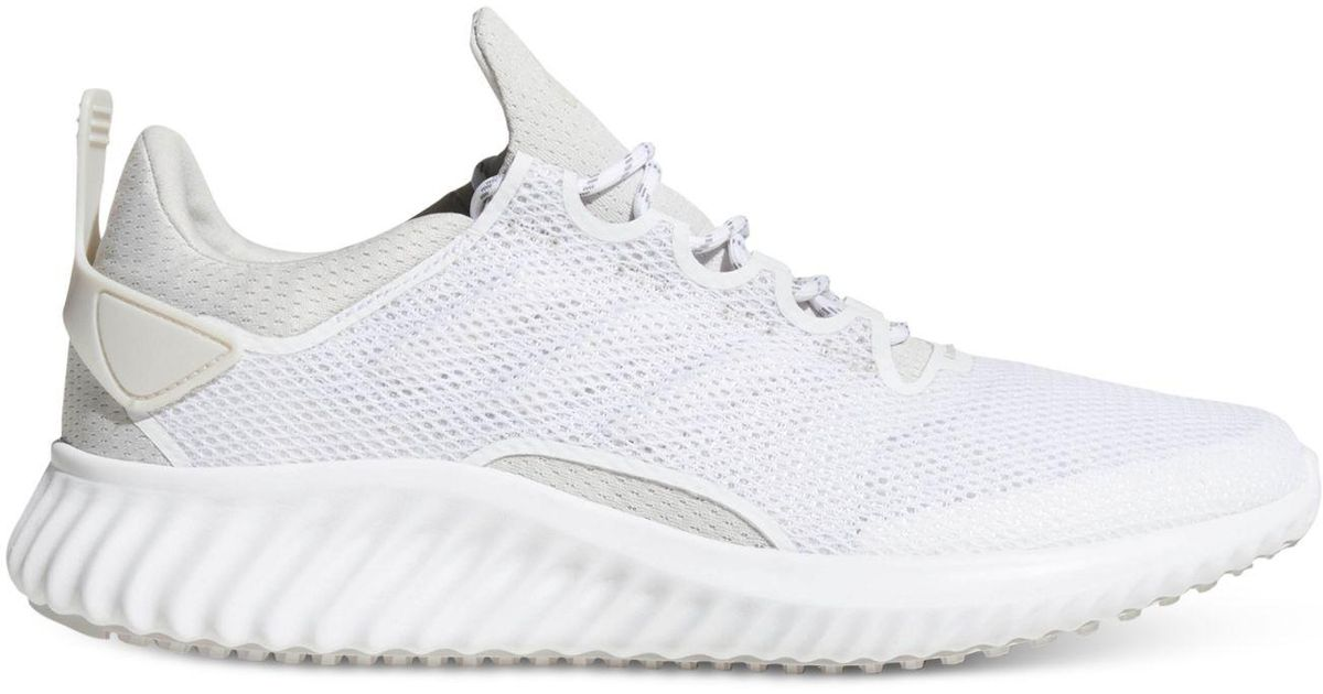 size 40 e884a 88dc6 Lyst - adidas Alphabounce City Running Sneakers From Finish Line in White