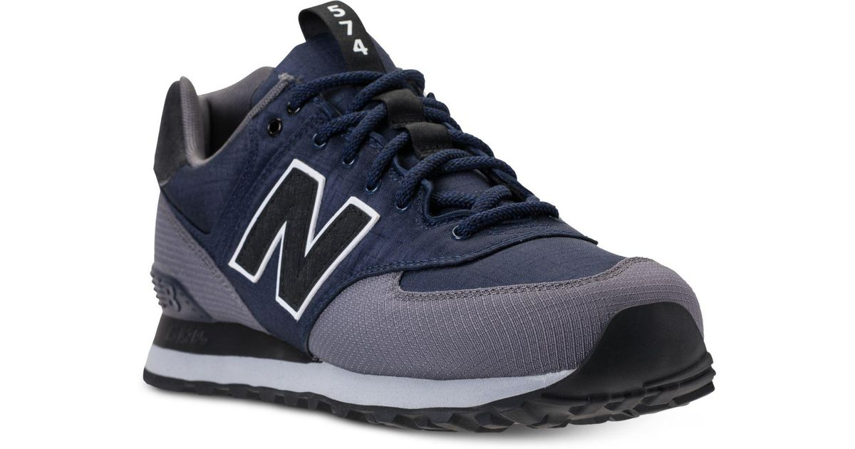 designer fashion d9cf9 9ba5c New Balance Blue Men's 574 Outdoor Escape Casual Sneakers From Finish Line  for men