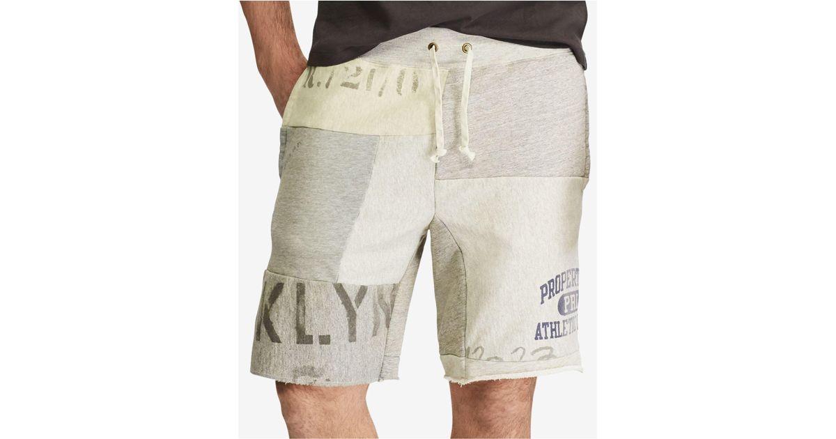 polo sweat shorts