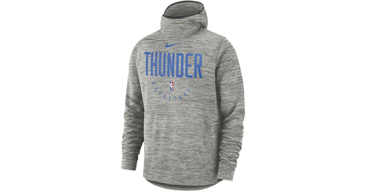 premium selection 6b016 2ba20 Nike Gray Nba Spotlight Pullover Hoodie Sweatshirt for men