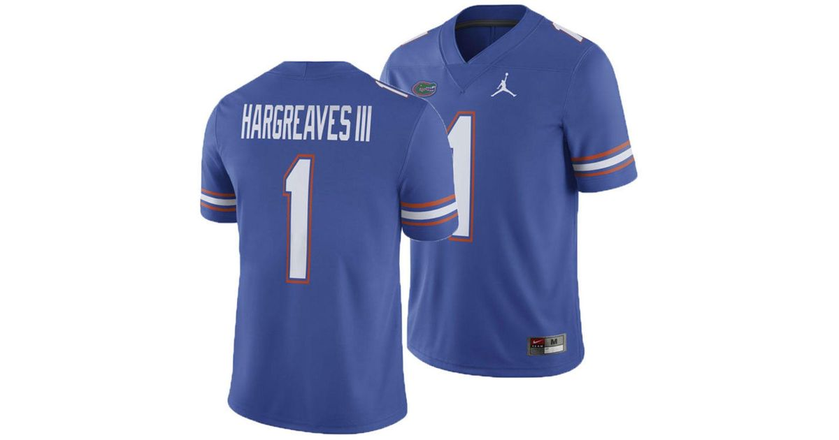 premium selection 28236 39248 Nike Blue Vernon Hargreaves Iii Florida Gators Player Game Jersey for men