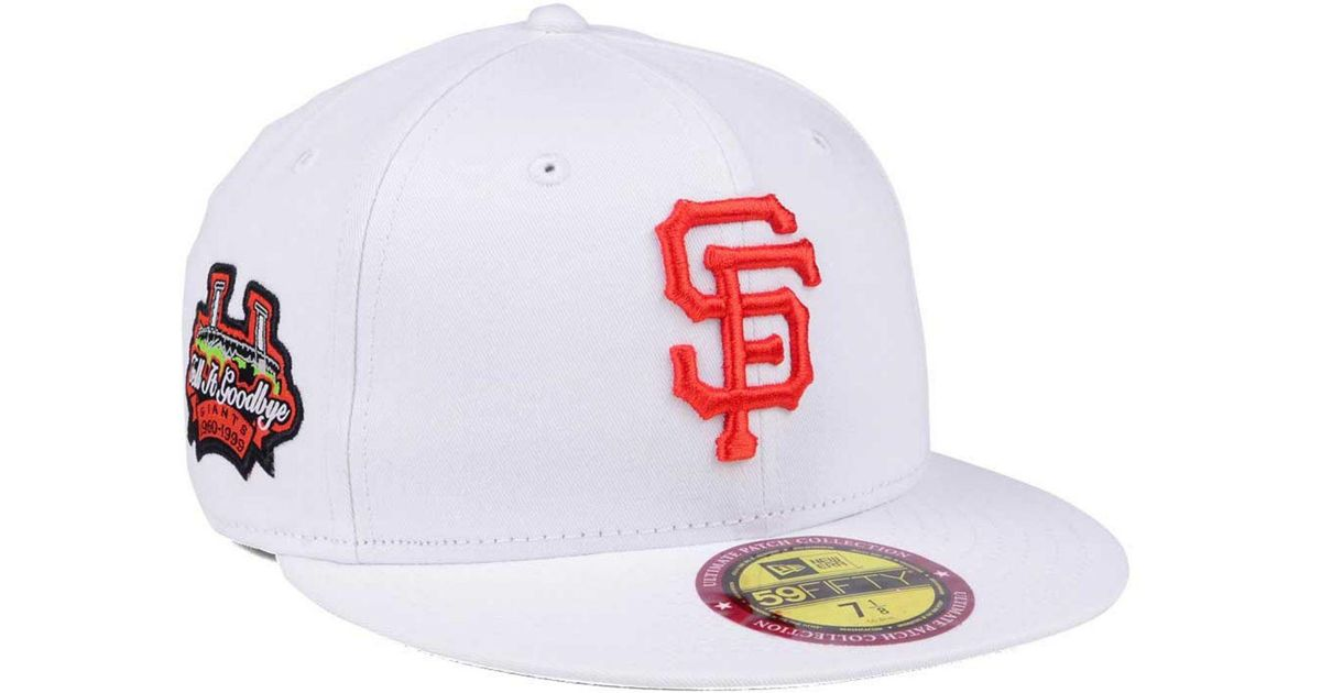 4e796f782f5 Lyst - KTZ The Ultimate Patch Collection Stadium 59fifty Cap in White for  Men