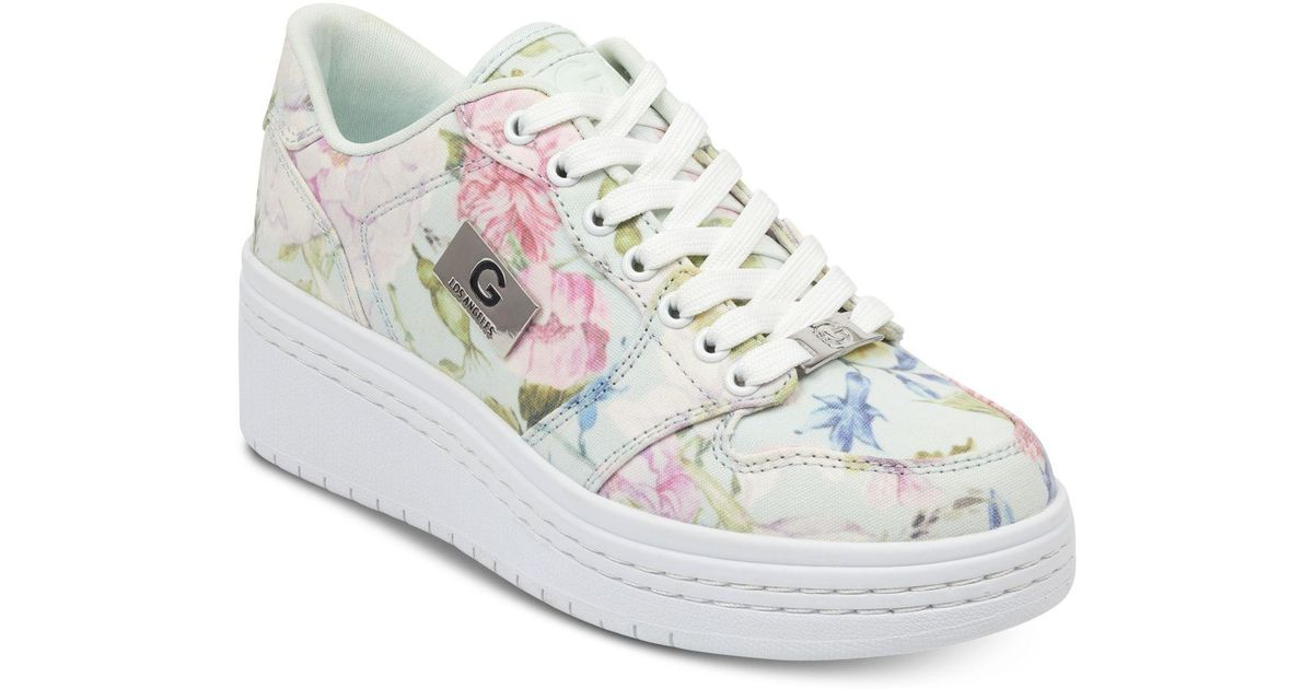 guess floral sneakers cheap online