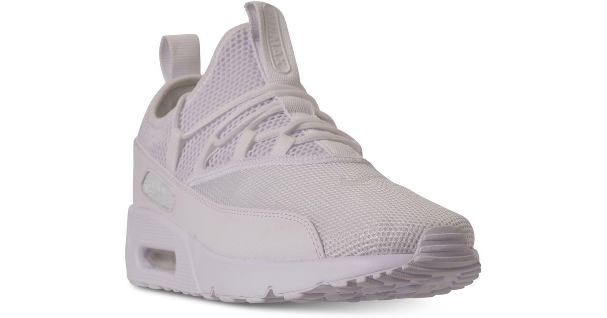 huge selection of 094c9 ff159 Nike White Air Max 90 Ez Casual Sneakers From Finish Line