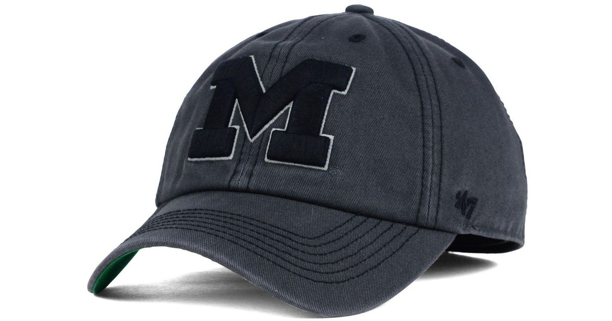 sale ever popular huge inventory 47 Brand Michigan Wolverines Sachem Cap in Charcoal (Gray) for Men ...