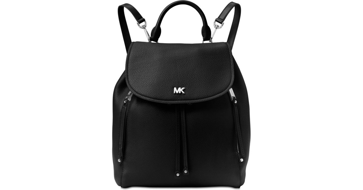 995cbd00131d ... ireland coupon for michael kors michael evie backpack in black lyst  43530 93a78 1fde4 282f7