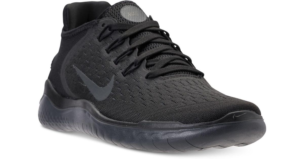 92a09f153ac0 Nike Free Rn 2018 (black/anthracite) Running Shoes in Black - Save 33% -  Lyst