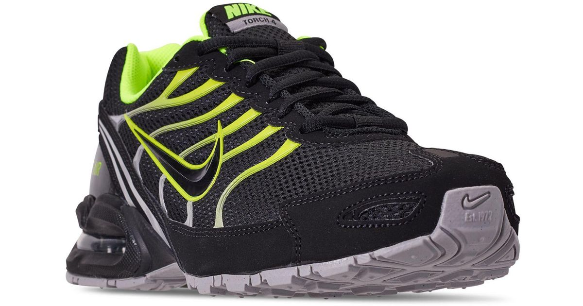 25aa81d4 Nike Air Max Torch 4 Running Sneakers From Finish Line in Black for Men -  Lyst