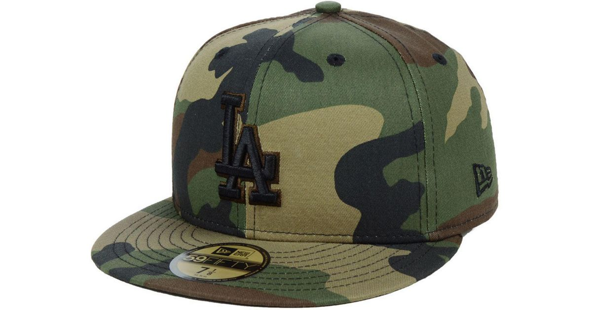 1552e6da5dfc5 Lyst - KTZ Los Angeles Dodgers Fall Prism Pack 59fifty-fitted Cap in Green  for Men