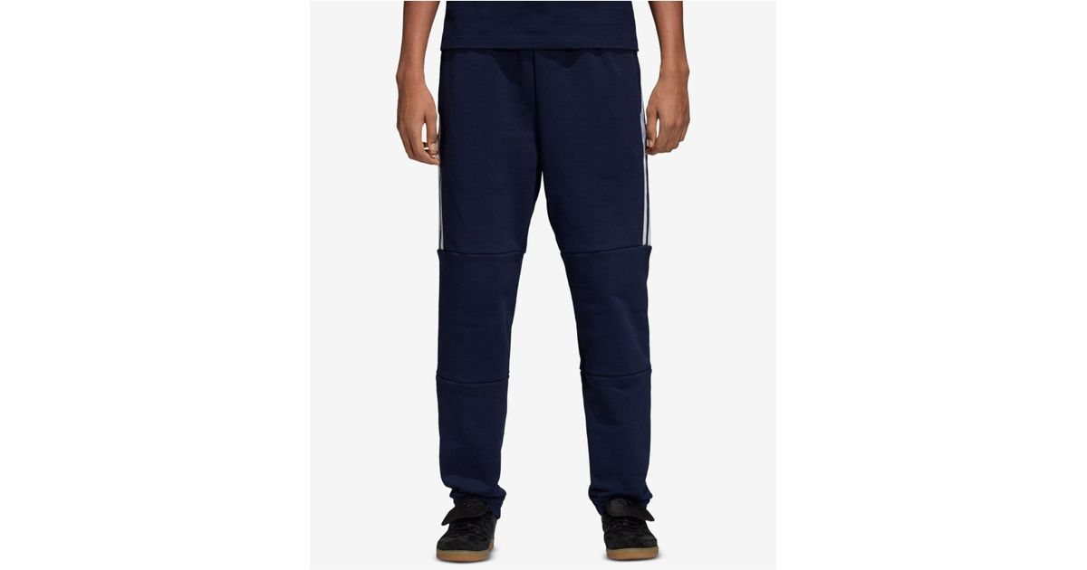 029b3dbc0745 Lyst - adidas Originals Adicolor Outline-logo French Terry Joggers in Blue  for Men