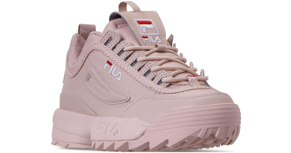women's disruptor ii premium casual athletic sneakers from finish line