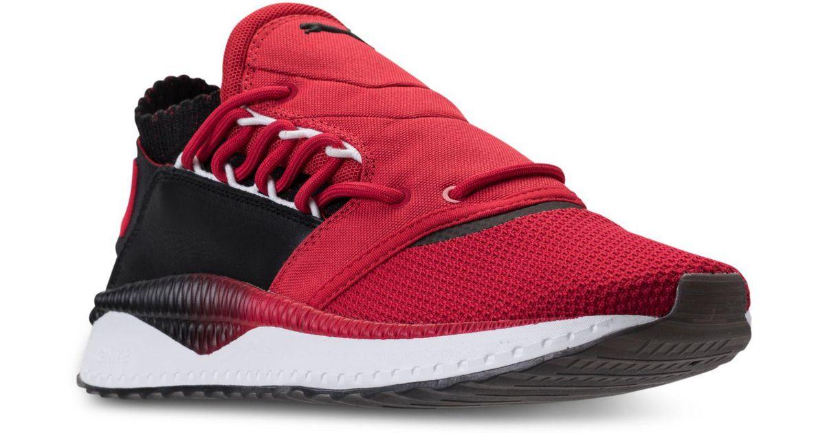 Lyst - PUMA Men s Tsugi Shinsei Prime Casual Sneakers From Finish Line in  Red for Men 2fce30b9f