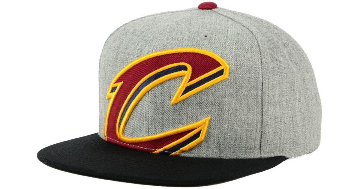 27c3f17778c53a ... australia lyst mitchell ness cleveland cavaliers cropped heather  snapback cap for men d4d3d 7bdeb