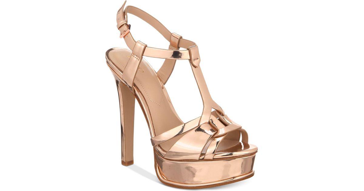 23f0e9d7fd9 ALDO Multicolor Chelly Platform Dress Sandals