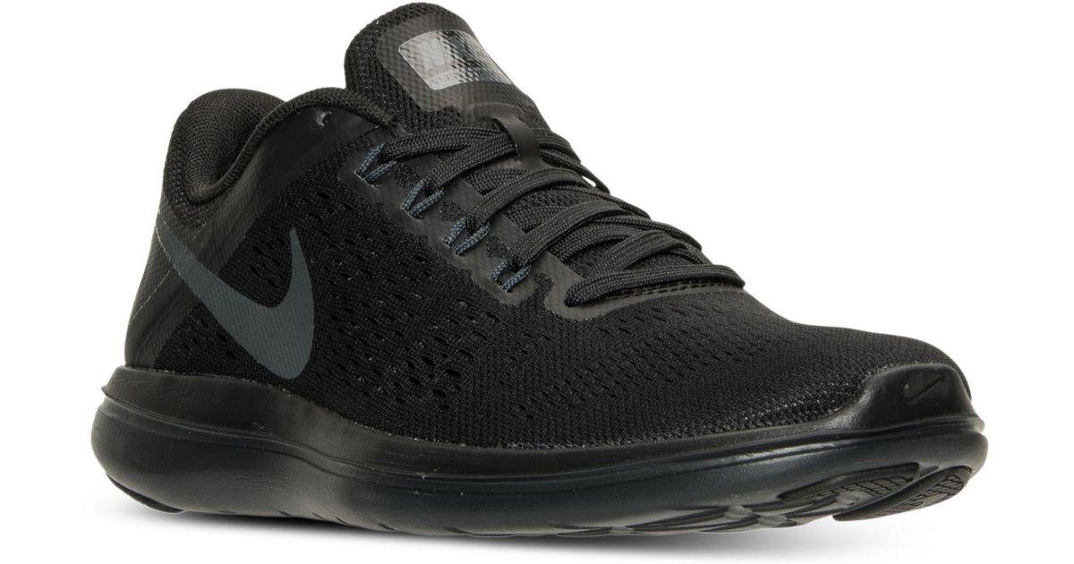 big discount 100% quality cute Nike Black Flex 2016 Rn Running Shoes