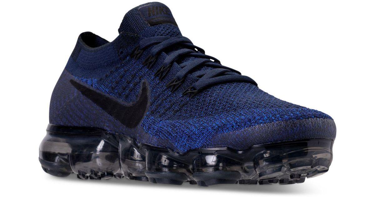 f911023d6db01 Lyst - Nike Men s Air Vapormax Flyknit Running Sneakers From Finish ... nike  vapormax
