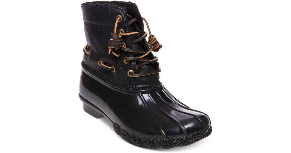 587de2838e4 Lyst - Steve Madden Torrent Duck Boot in Black - Save 54%