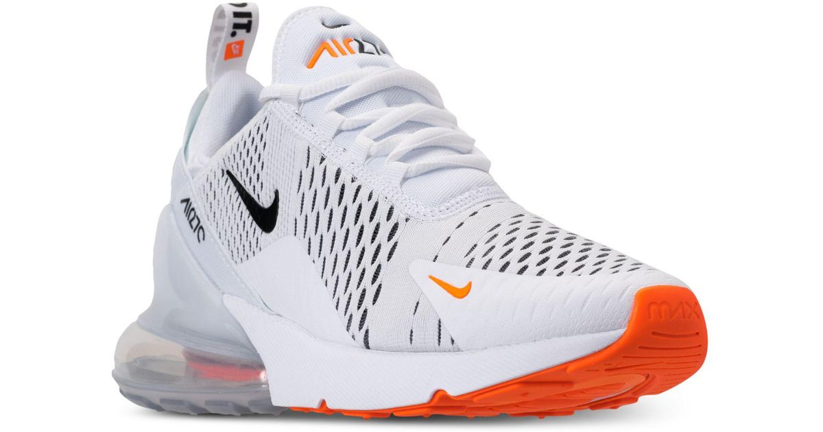 timeless design 3d915 28d6a Nike White Air Max 270 Casual Sneakers From Finish Line for men