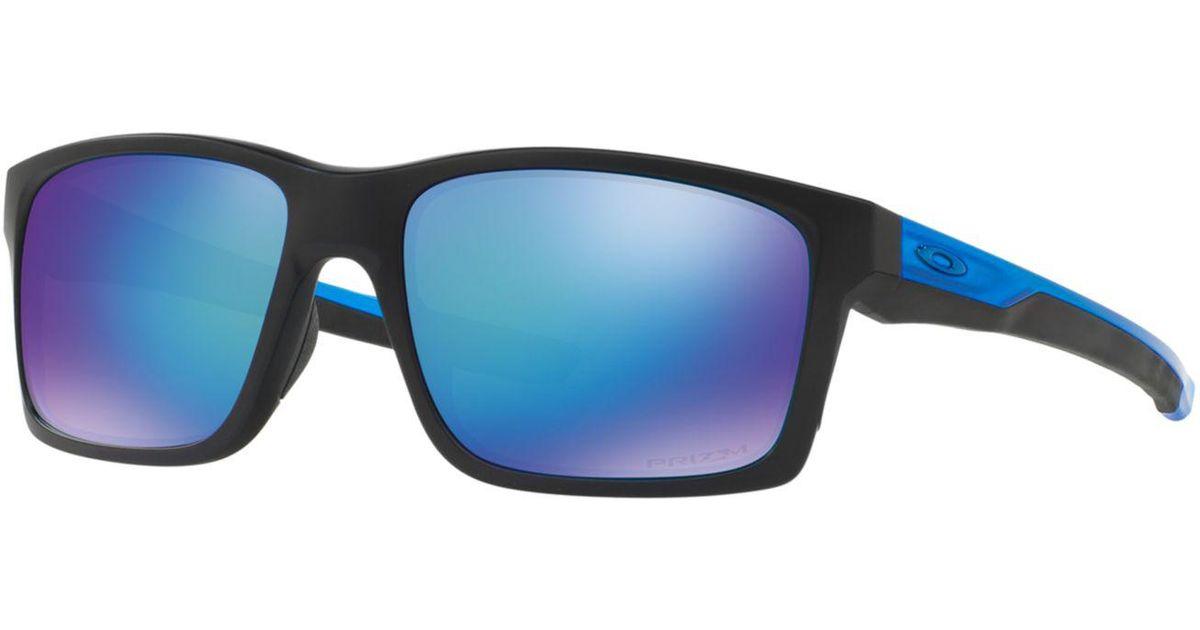 Oakley Mainlink Prizm >> Oakley Blue Polarized Mainlink Prizm Sapphire Sunglasses Oo9264 57 For Men Lyst