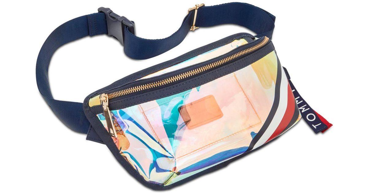 9035ba85fe9 Tommy Hilfiger Multicolor Kala Iridescent Convertible Belt Bag