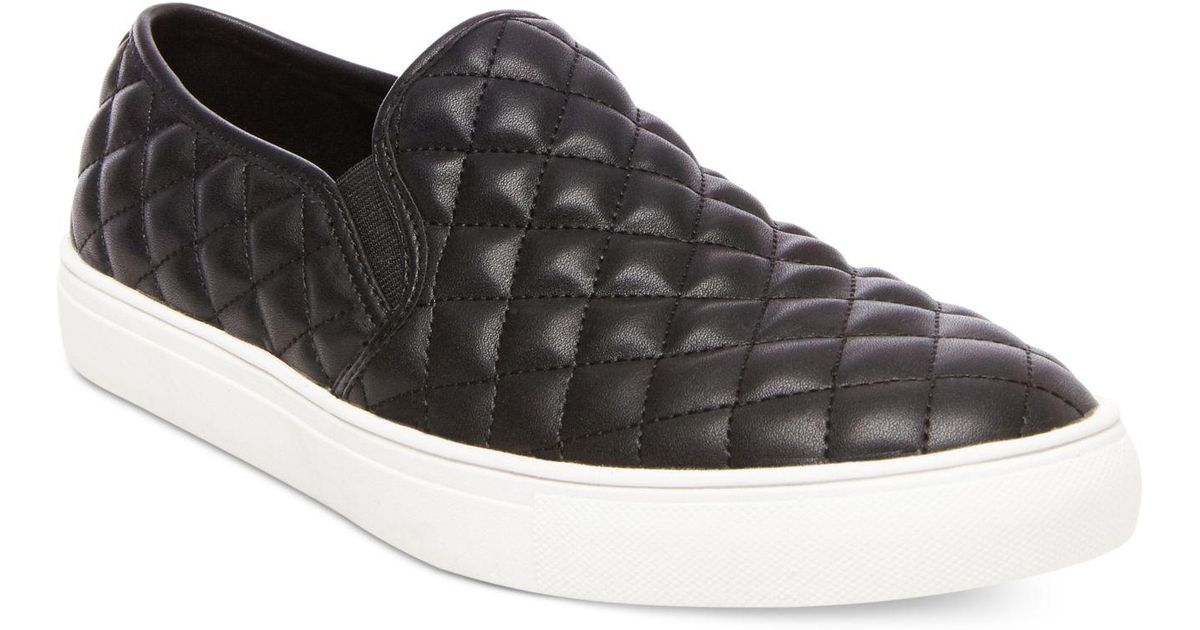 30fd2e5b602 Steve Madden Black Men's Element Slip-on Sneakers for men