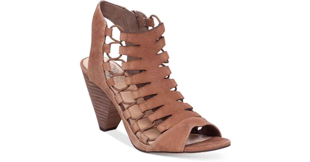 3cb2386c0c19 Lyst - Vince Camuto Eliaz Gladiator Dress Sandals in Brown