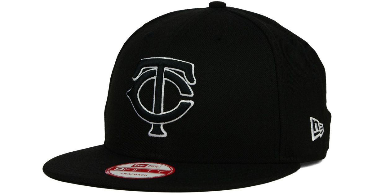 utterly stylish excellent quality promo codes france minnesota twins new era mlb woodland black white 9fifty ...