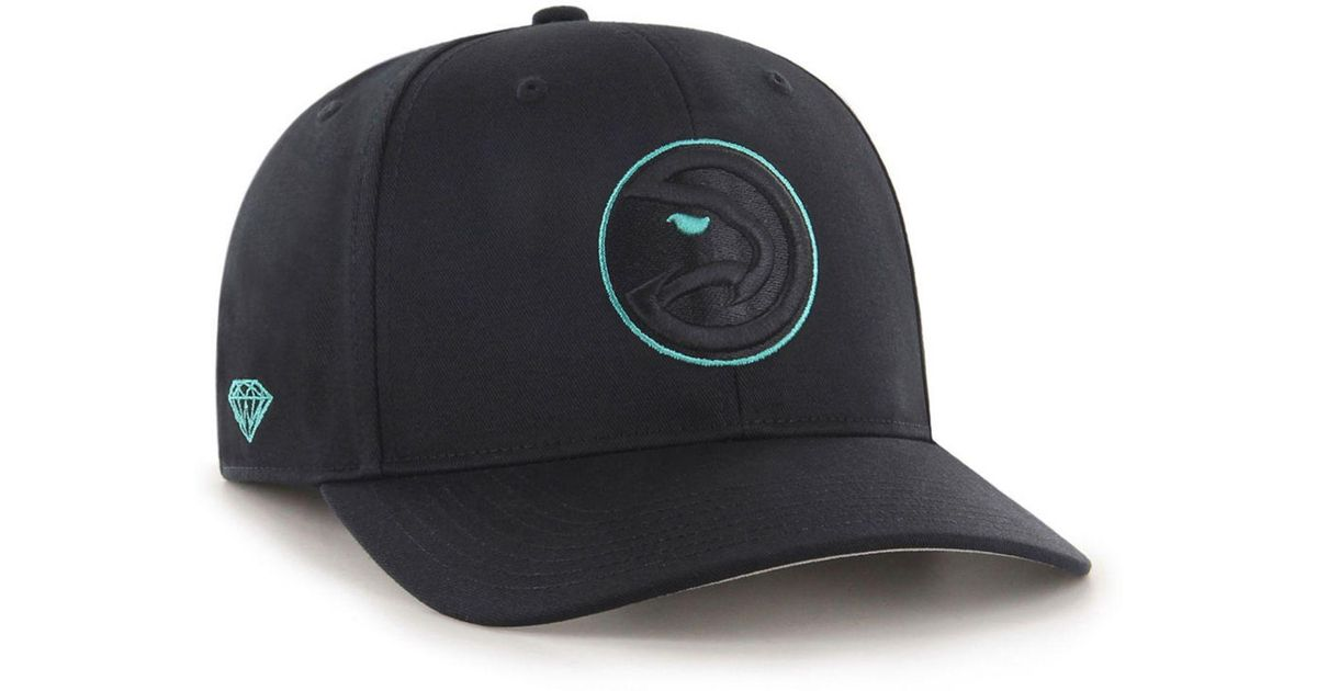 new style 1da74 999d9 ... low cost lyst 47 brand atlanta hawks diamond blue mvp dp cap in blue  for men
