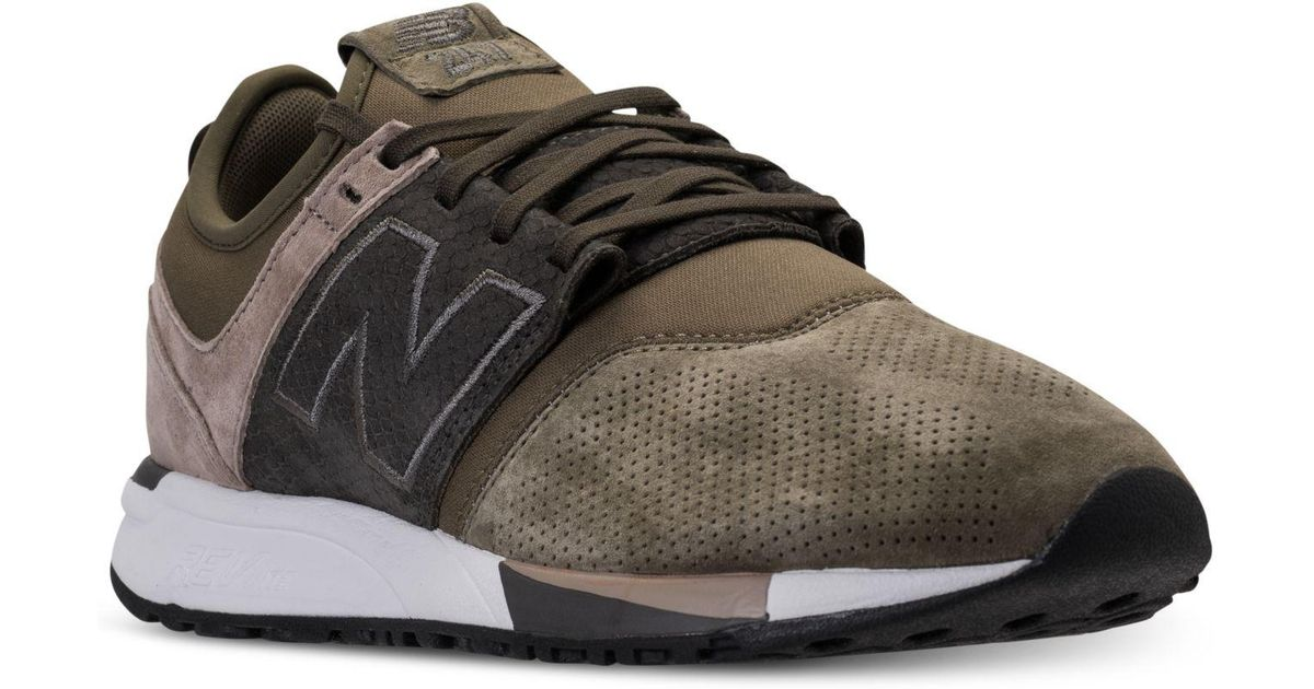 newest 1276a 087a7 Lyst - New Balance Men s 247 Premium Casual Sneakers From Finish Line for  Men