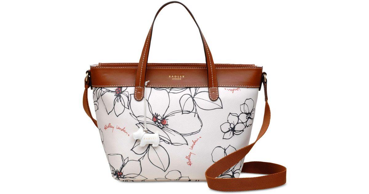 661f35a894f Radley Multicolor Floral Zip-top Small Satchel