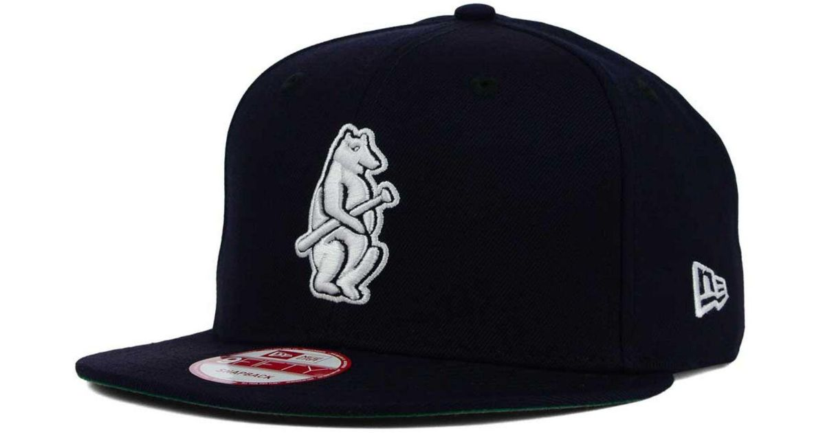 873689e8718 Lyst - KTZ Chicago Cubs 2 Tone Link Cooperstown 9fifty Snapback Cap in Blue  for Men