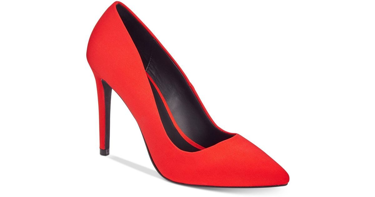 acb7932d3640 Lyst - Call It Spring Agrirewiel Pointed Toe Dress Pumps in Red