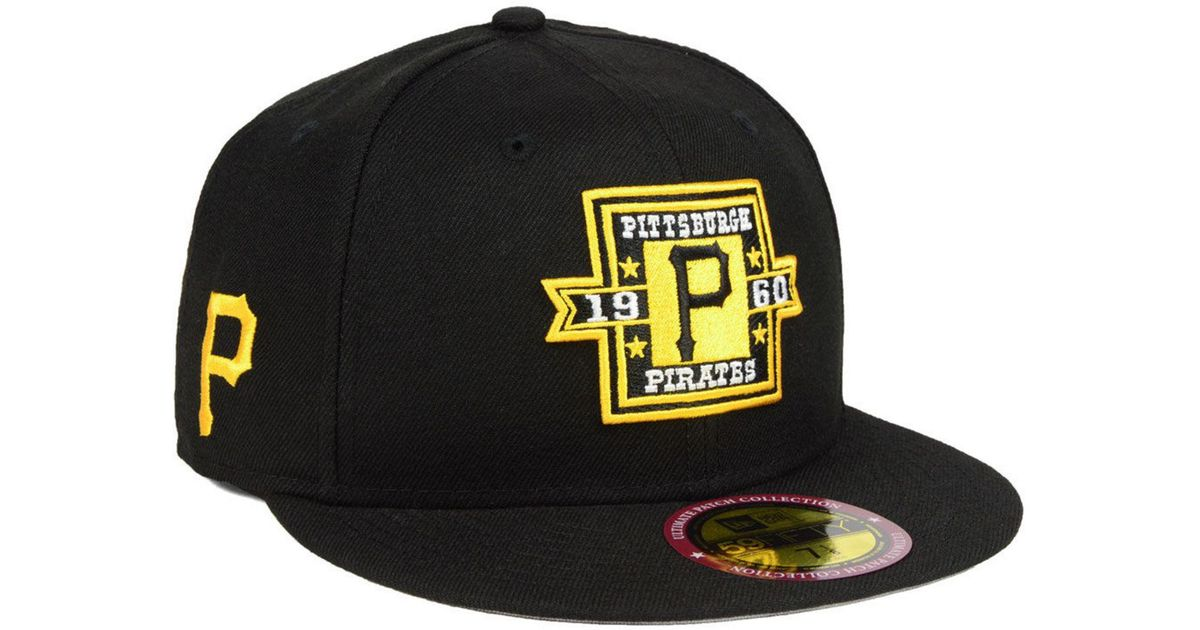 Lyst - KTZ Pittsburgh Pirates Ultimate Patch Collection Front 59fifty  Fitted Cap in Black for Men 73c00fddbf9d