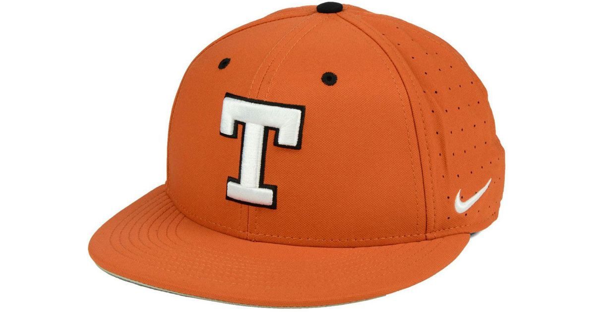 489b653a937 ... germany lyst nike texas longhorns aerobill true fitted baseball cap in  orange for men 6aa35 03e77
