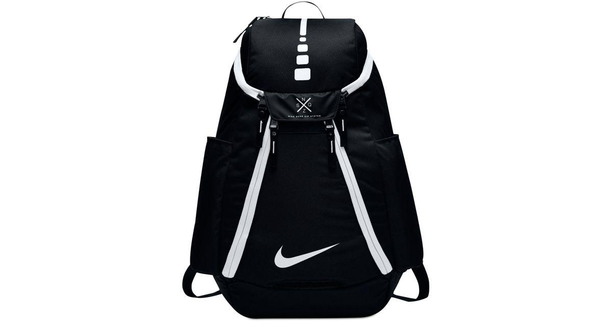 Lyst - Nike Air Hoops Elite Basketball Backpack in Black for Men 5f7b29cb5bfe4