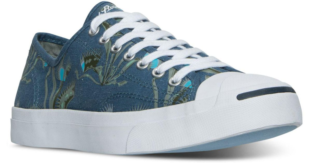 Converse Men's Jack Purcell Jack Ox Casual Sneakers from Finish Line svkPt
